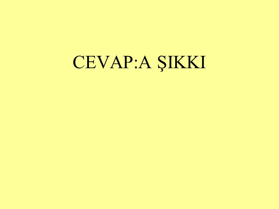 SORU:19 Aşağıdaki cümlelerin hangisinde virgül (,) farklı bir görevde kullanılmıştır.