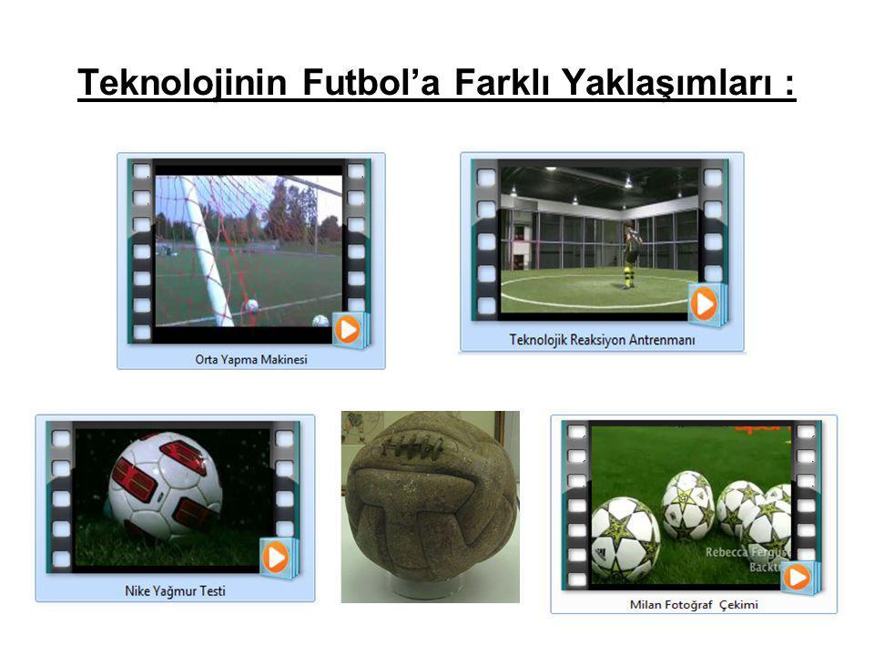 Teknolojinin Futbol'a Farklı Yaklaşımları :