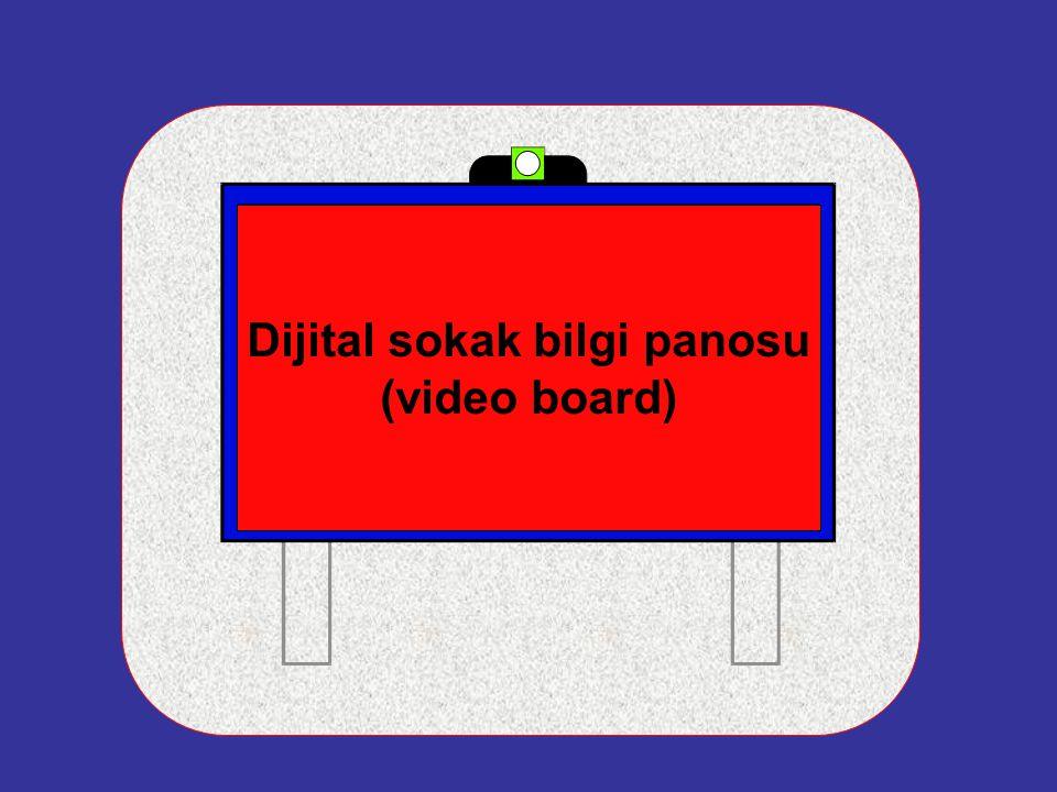 Dijital sokak bilgi panosu (video board)