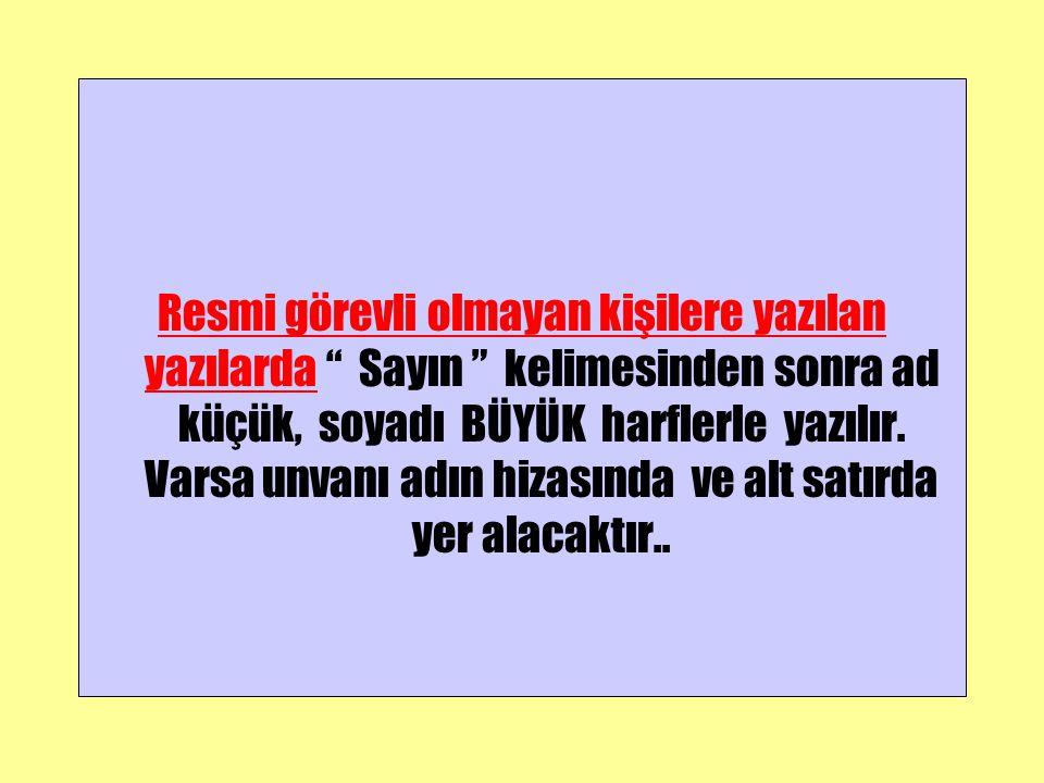 ORDU VALİLİĞİNE ( İl Kültür Müdürlüğü) ÖRNEK-1