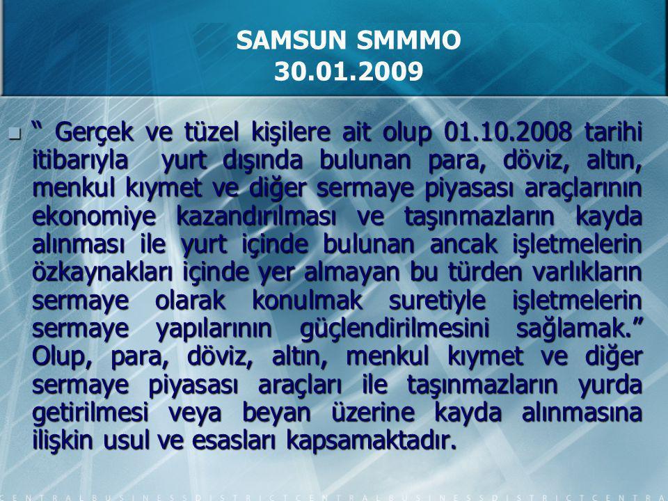 5811 sayılı Kanun' la ilgili olarak 1 seri numaralı Genel Tebliğ 06.12.2008 tarih ve 27076 sayılı RG' de yayımlanmış ve uygulama esaslarına açıklık kazandırılmıştır.