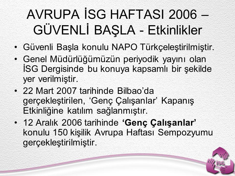 Güvenli Başla konulu NAPO Türkçeleştirilmiştir.