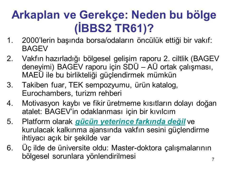 7 Arkaplan ve Gerekçe: Neden bu bölge (İBBS2 TR61).