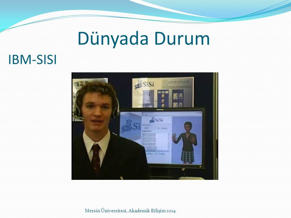 IBM-SISI Mersin Üniversitesi, Akademik Bilişim 2014 Dünyada Durum