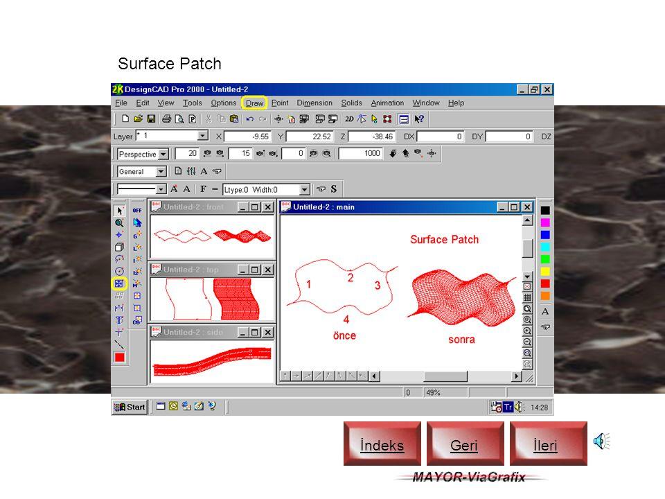 Texture Mapping İndeks Geriİleri
