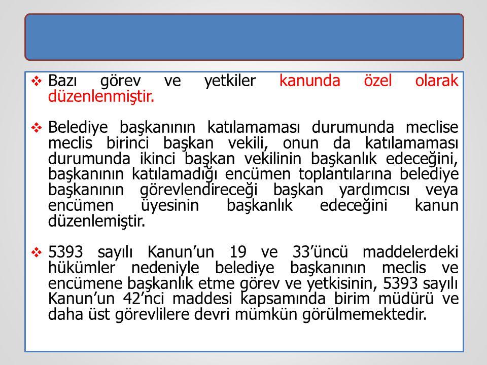 Meclis Kararlarının Halka Duyurulması  5393 sayılı Kanun'un 23'üncü maddesi, kesinleşen meclis kararlarının özetlerinin yedi gün içinde uygun araçlarla halka duyurulacağını belirtmiş, ancak bu duyurma ile ilgili özel bir yöntem belirlememiştir.