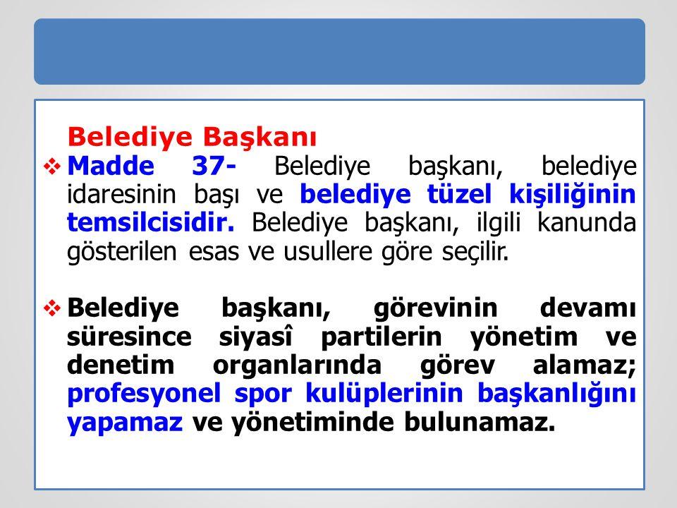 Borçlanma-5393 sayılı Kanun (md.68) Yukarıda belirtilen usul ve esaslara aykırı olarak borçlanan belediye fiilleri daha ağır bir cezayı gerektirmeyen durumlarda yetkilileri hakkında, 5237 sayılı Türk Ceza Kanununun görevi kötüye kullanmaya ilişkin hükümleri uygulanır.