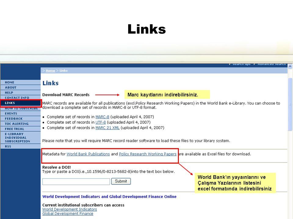 17 Links Marc kayıtlarını indirebilirsiniz.