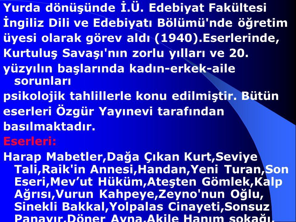Halide Edip Adıvar, 1884-9 Ocak 1964 İstanbul'da doğan Halide Edip Adıvar, Üsküdar Amerikan Kız Koleji'ni bitirdi. 1901 yılında matematikçi Salih Zeki
