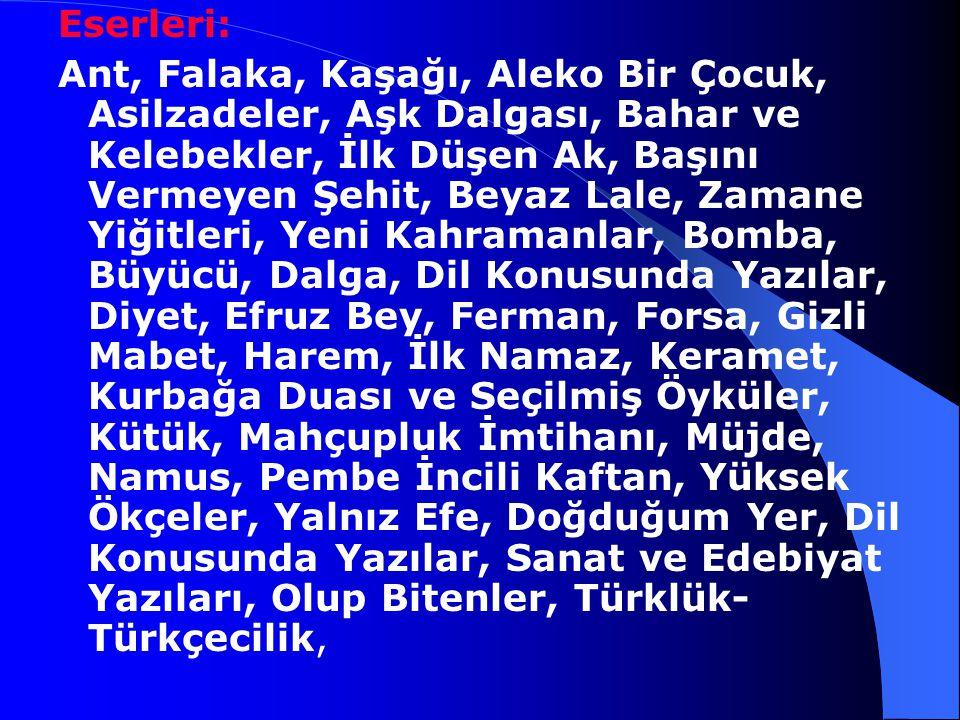 Temiz ve sade bir dille kaleme aldığı hikayeleriyle Ömer Seyfettin Türk ulusuna öz dilinin tadım yeniden duyumsattı. Ömer Seyfettin, eserleriyle dilde