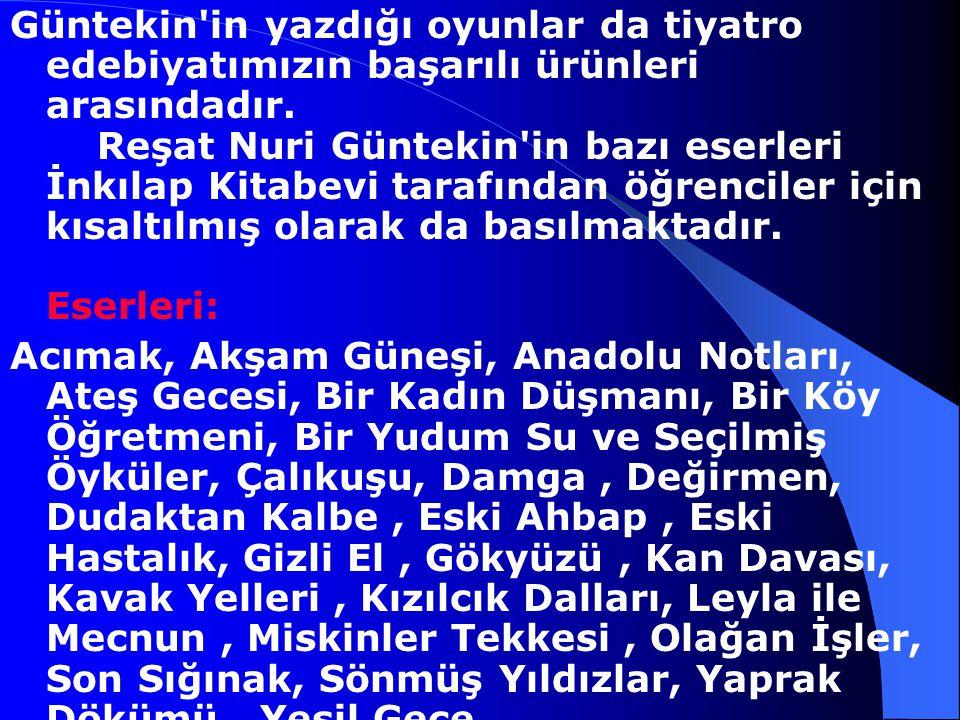 Reşat Nuri Güntekin, özellikle Cumhuriyet yönetimiyle değişim sürecine giren Türk toplumunun çeşitli katmanları arasındaki çelişkileri ele alan eserle