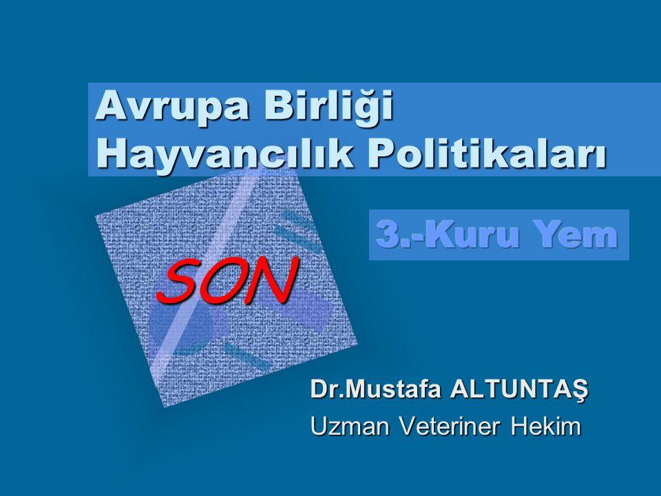 Dr.Mustafa ALTUNTAŞ,2003 Garanti edilen miktarların, herhangi bir şekilde aşılmasını cezalandırmak üzere, bir denkleştirici mekanizma oluşturulmuştur.