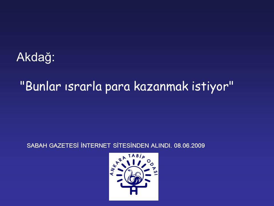 Sağlık Bakanı Akdağ, doktorların tam gün çalışmasını öngören tasarının sadece 1200 öğretim üyesini etkilediğini söyledi.