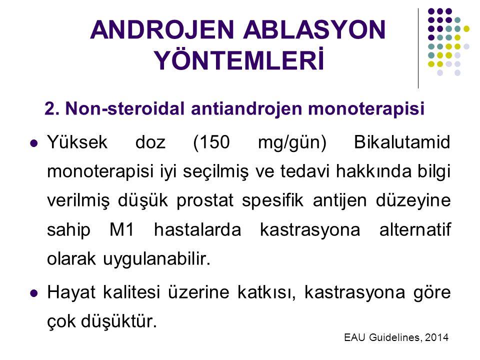 ANDROJEN ABLASYON YÖNTEMLERİ 2.