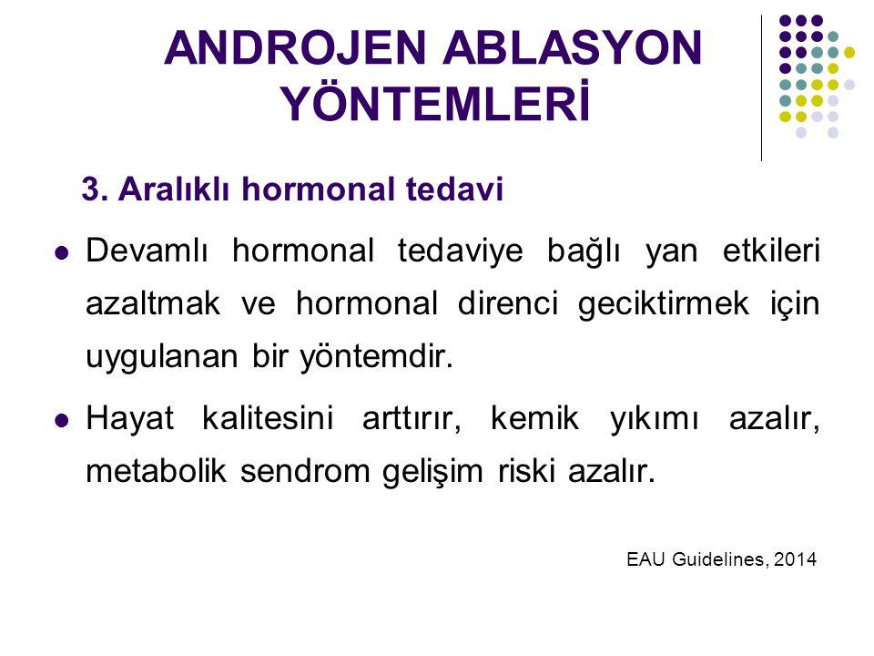 ANDROJEN ABLASYON YÖNTEMLERİ 3.