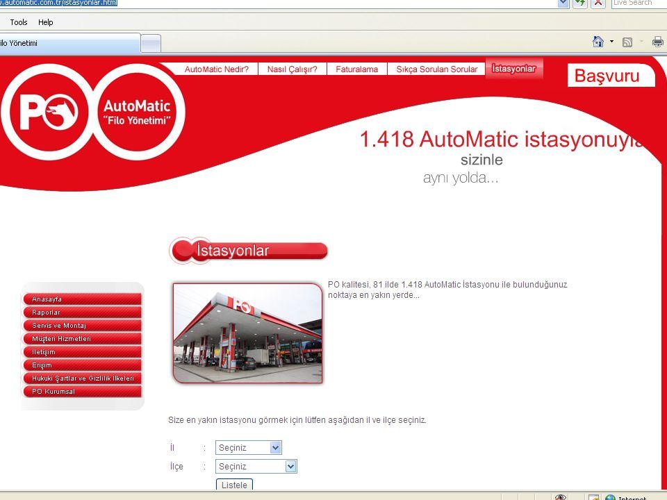 63 Sıkça Sorulan Sorular ve Cevapları AutoMatic cihazları elimize ulaştı.