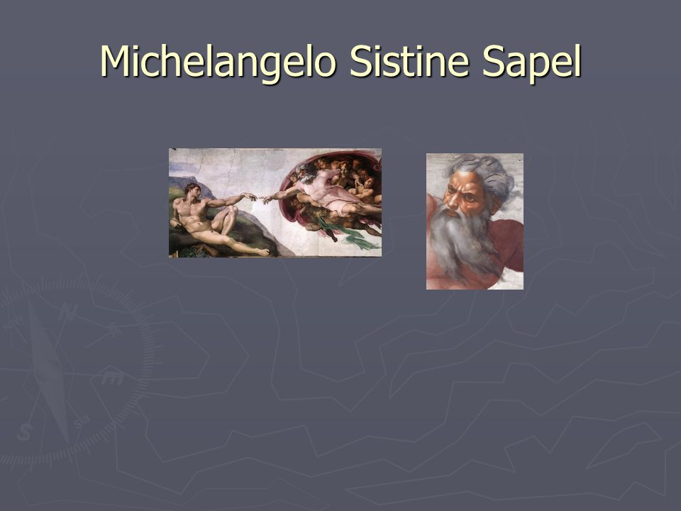 Michelangelo Sistine Sapel