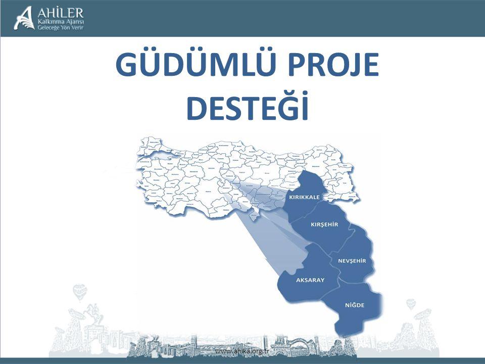 www.ahika.org.tr GÜDÜMLÜ PROJE DESTEĞİ
