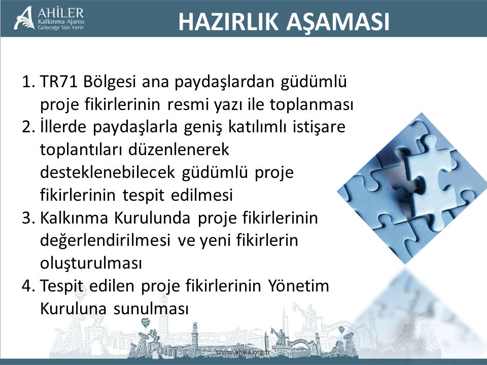 www.ahika.org.tr KUDAKA – ERZURUM SÜT İNEKÇİLİĞİ KREŞİ (DANABANK) PROJESİ Amaç: Modern hayvancılık uygulamalarını geliştirmek Proje Uygulayıcısı: Atatürk Üniversitesi Proje Ortakları : Erzurum İl Özel İdaresi, Tarım Kredi Kooperatifleri Erzurum Ticaret Borsası