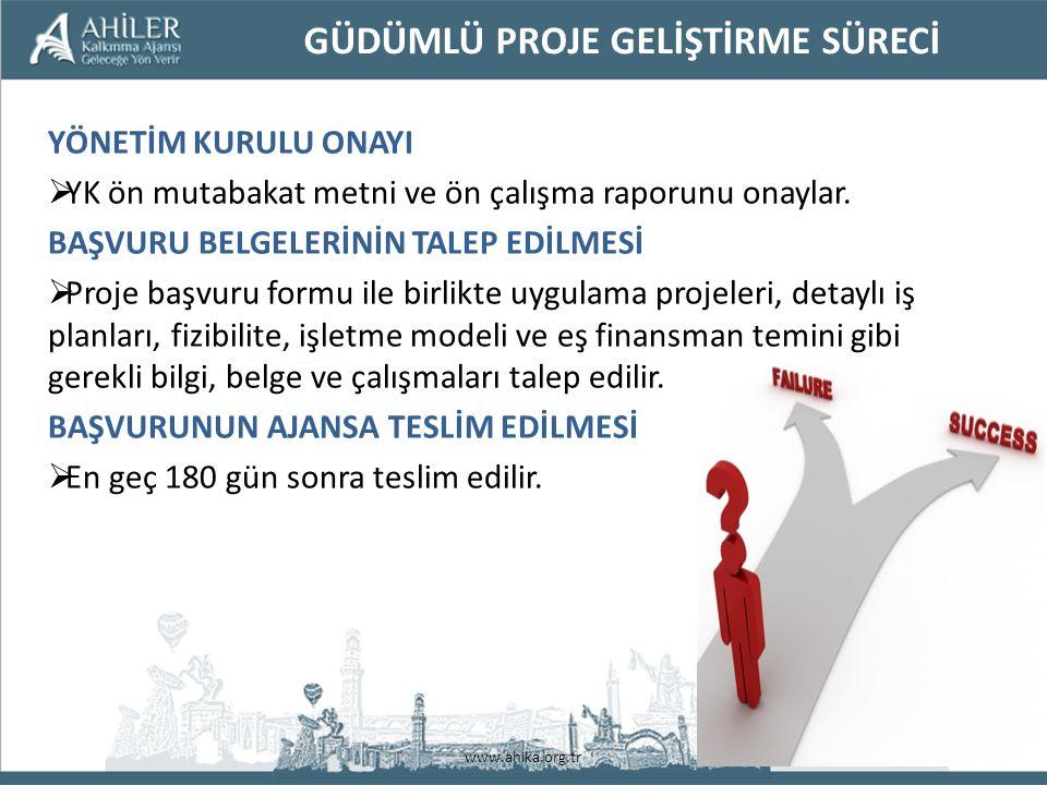 www.ahika.org.tr FAALİYETLERİN UYGUNLUĞU YER: TR71 Bölgesi (Aksaray, Kırıkkale, Kırşehir, Nevşehir, Niğde) SÜRE: Azami 2 yıldır
