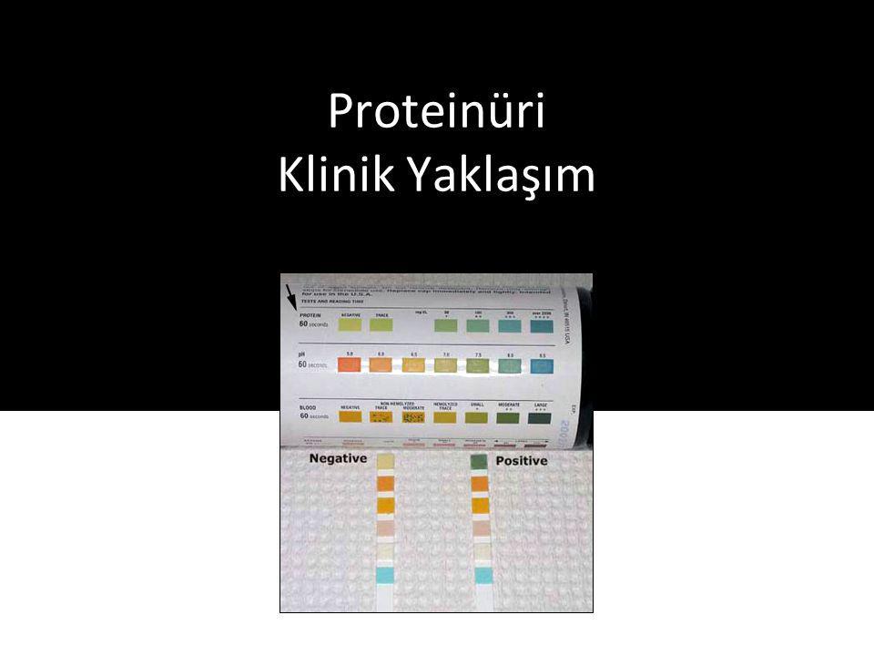 Proteinüri Klinik Yaklaşım