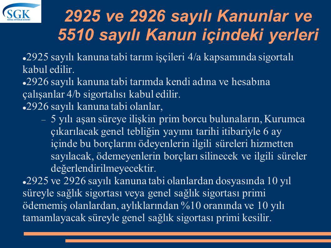 Topluluk Sigortası Kanunun yürürlüğe girdiği tarihte mülga 506 sayılı Kanuna göre malüllük, yaşlılık ve ölüm topluluk sigortasına tabi olan avukat ve