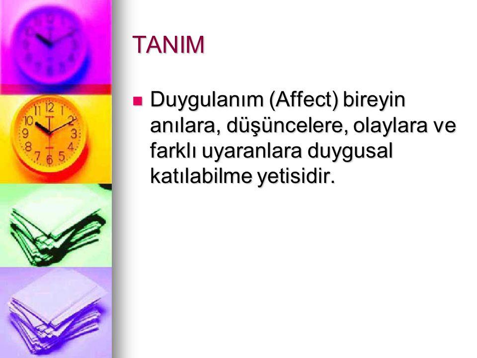 EPİDEMİYOLOJİ Türkiye'de yapılan çalışmalarda erişkinler için depresyon oranı %11,6 bulunmuştur (Rezaki M ve ark 1993).