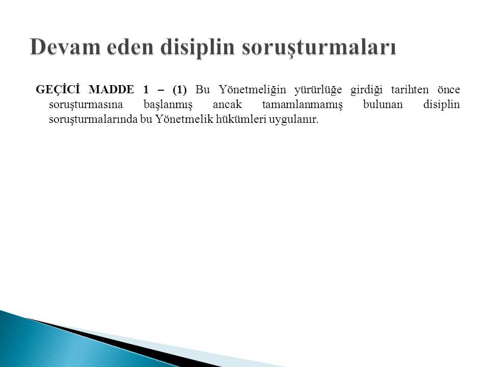 MADDE 30 – (1) 13/1/1985 tarihli ve 18634 sayılı Resmî Gazete'de yayımlanan Yükseköğretim Kurumları Öğrenci Disiplin Yönetmeliği yürürlükten kaldırılmıştır.