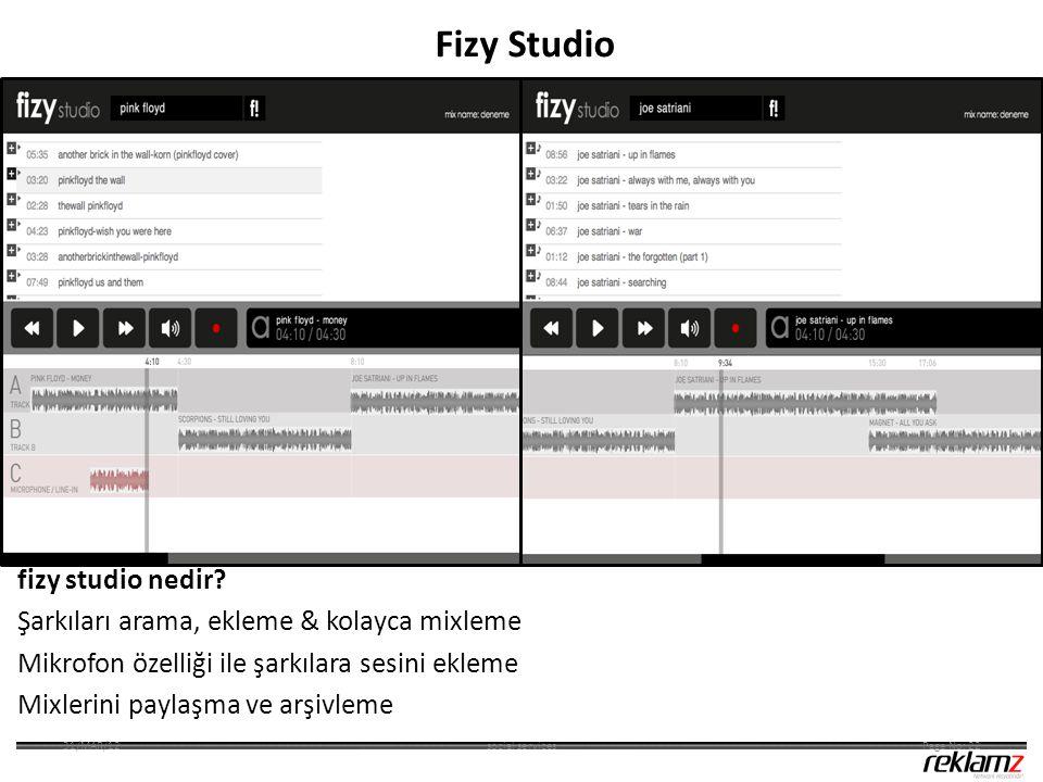 fizy studio nedir? Şarkıları arama, ekleme & kolayca mixleme Mikrofon özelliği ile şarkılara sesini ekleme Mixlerini paylaşma ve arşivleme social serv
