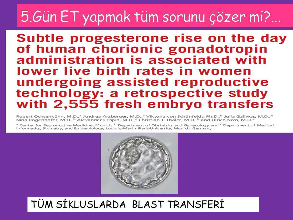 TÜM SİKLUSLARDA BLAST TRANSFERİ