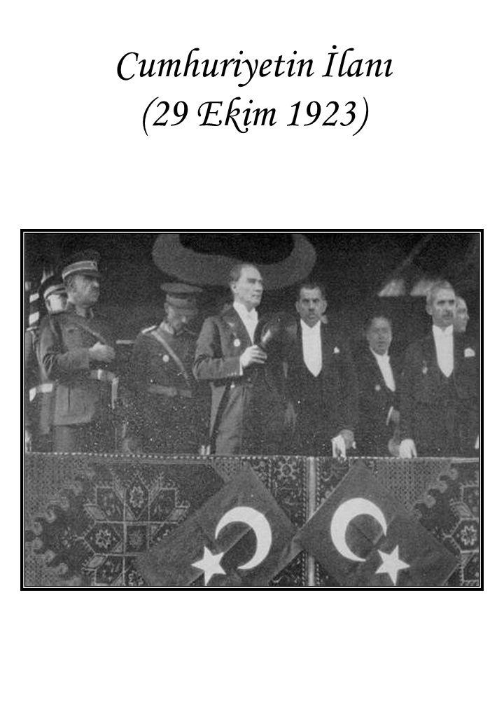 Cumhuriyetin İlanı (29 Ekim 1923)