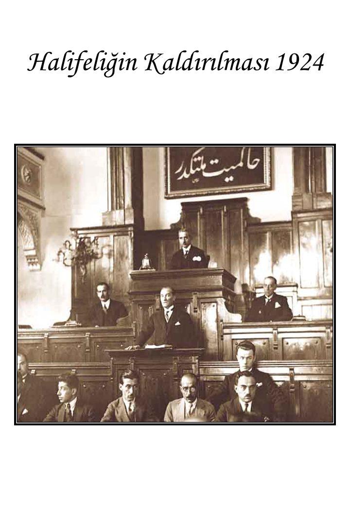 Halifeliğin Kaldırılması 1924
