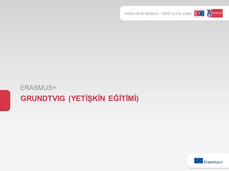 GRUNDTVIG (YETİŞKİN EĞİTİMİ) ERASMUS+