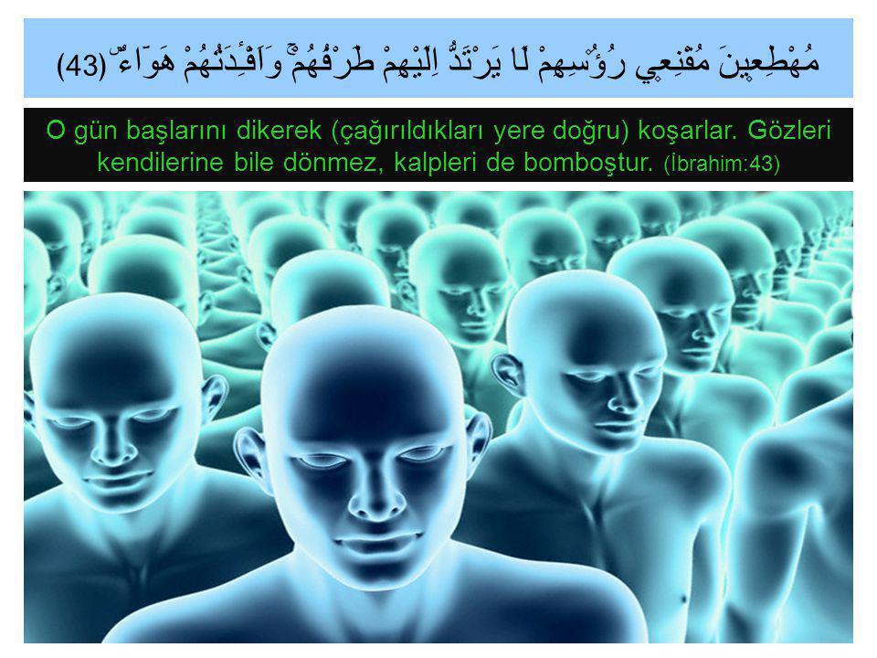 (Ey Muhammed!) İnsanları, kendilerine azabın geleceği gün ile uyar.