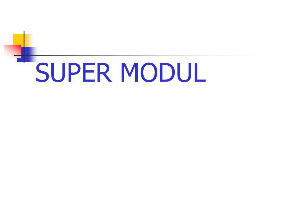 SUPER MODUL
