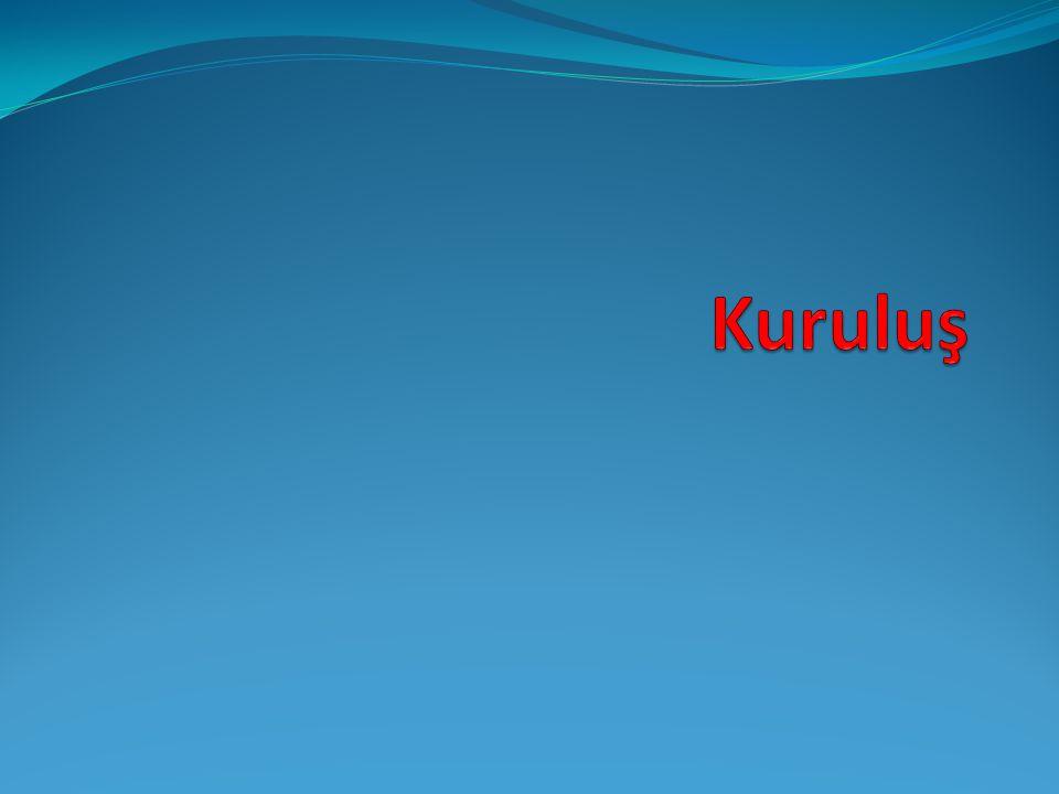 Kuruluş Şirket, esas sözleşmeyle kurulur. TK.335