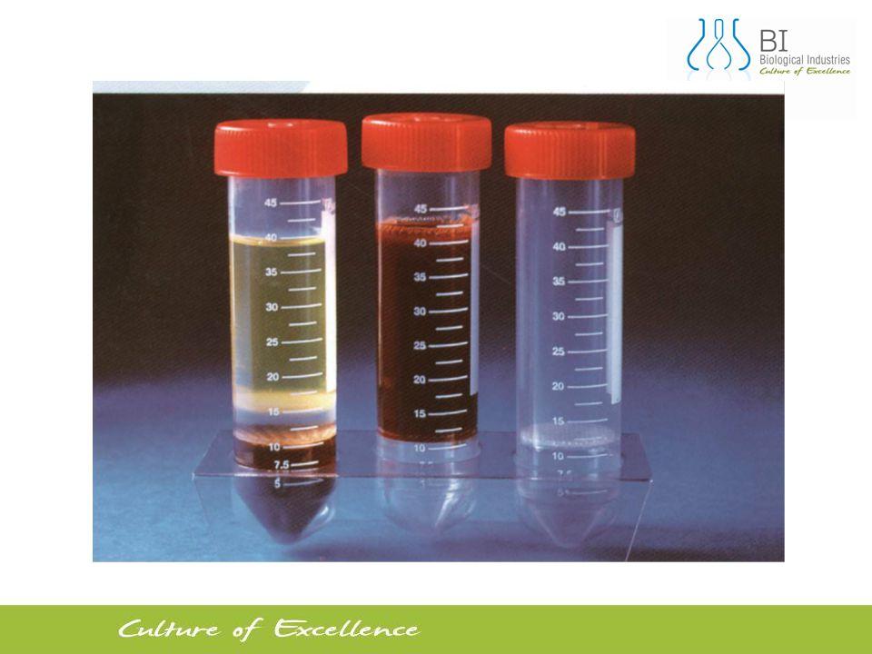 5 Tam kandan yüksek oranda saf ve canlı lenfosit eldesi için geliştirilmiş eşsiz bir radyan gradient separasyon metodu Steril santrifüj tüpleri içinde polysucrose-sodium metrizoat mediumu ve bu mediumun üzerinde tek yönlü bir insert bulunmaktadır.