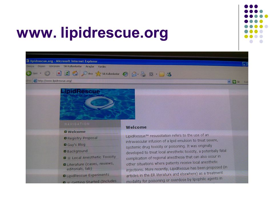www. lipidrescue.org