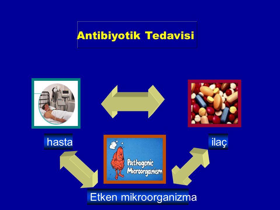 Antibiyotik Tedavisi hastailaç Etken mikroorganizma