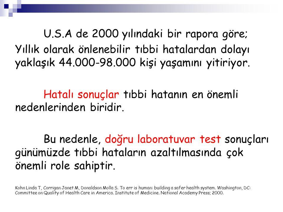 Hangi testler etkilenir?