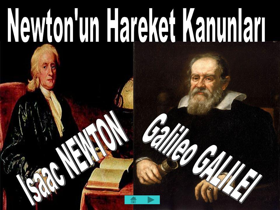 İÇERİK  Fiziksel Yasaların Keşfi  Kuvvet Kavramı ve Newton'un Birinci Hareket Yasası  Eylemsizlik ve Kütle  Newton'un İkinci Hareket Kanunu  Newton'un Üçüncü Kanunu:Etki ve Tepki  Kütle ve Kütlenin Ağırlıkla Olan İlişkisi  Sürtünme Kuvvetleri  Ağırlık ve Ağırlıksızlık  Eğik Düzlemde Hareket 2/35