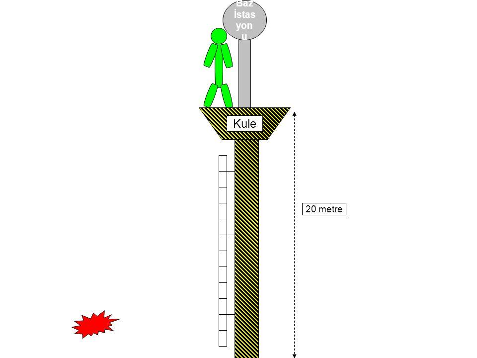 Baz İstas yon u 20 metre Kule