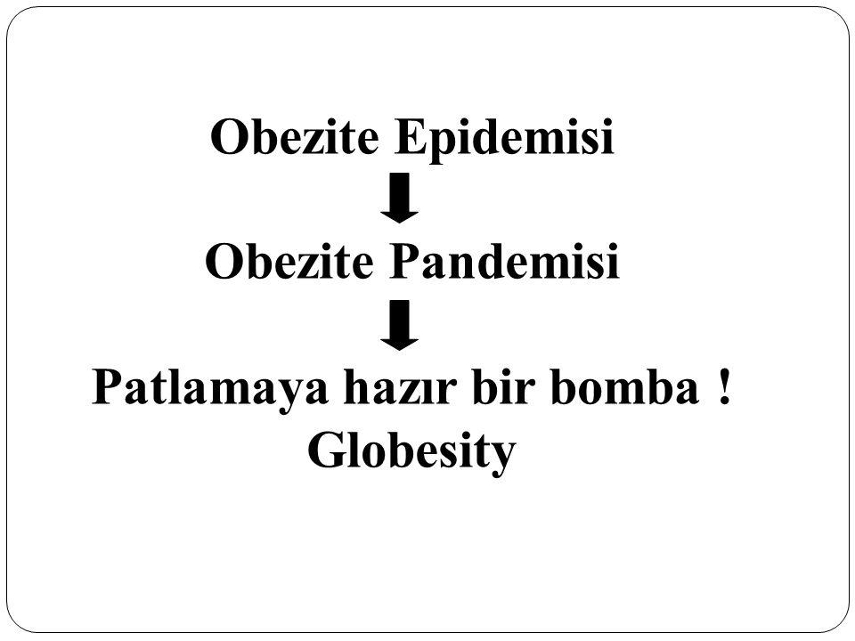 Obezite Epidemisi Obezite Pandemisi Patlamaya hazır bir bomba ! Globesity