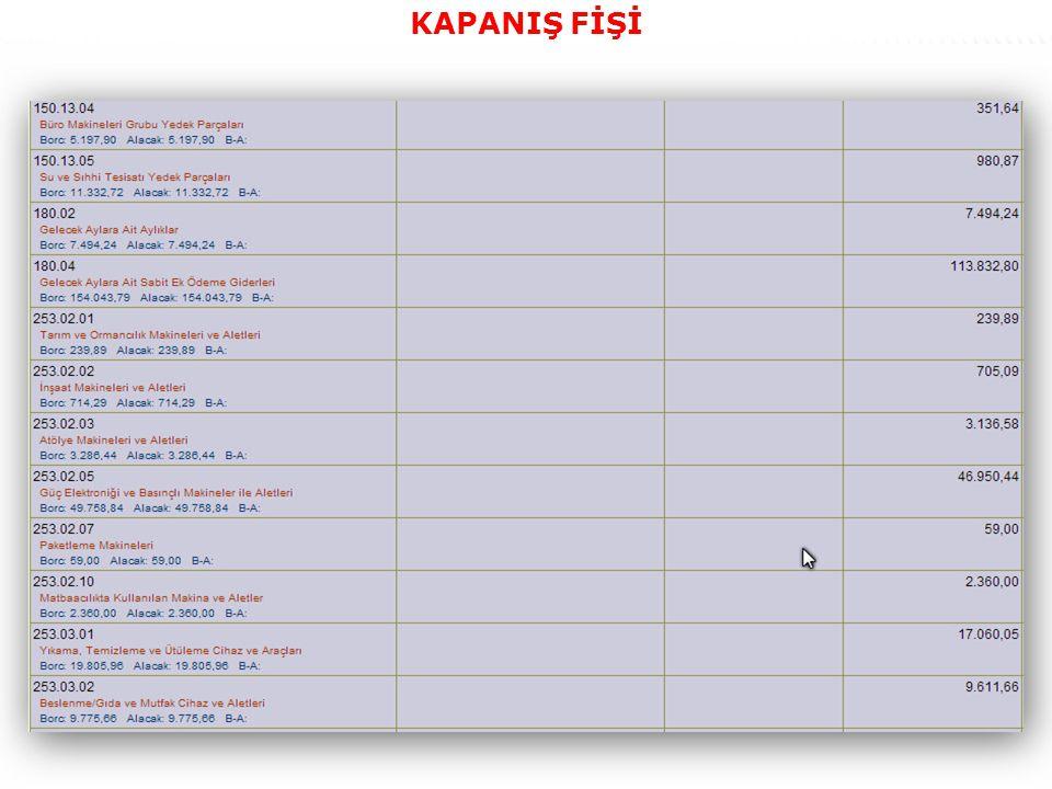 57 KAPANIŞ FİŞİ