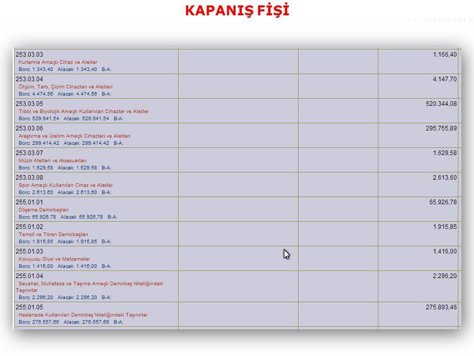 58 KAPANIŞ FİŞİ
