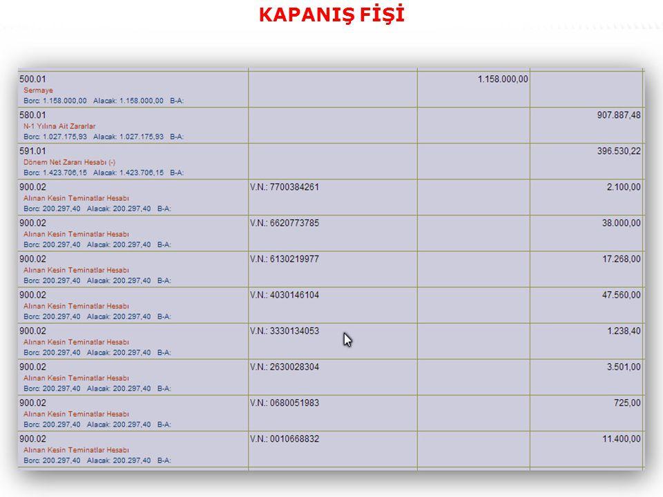 63 KAPANIŞ FİŞİ