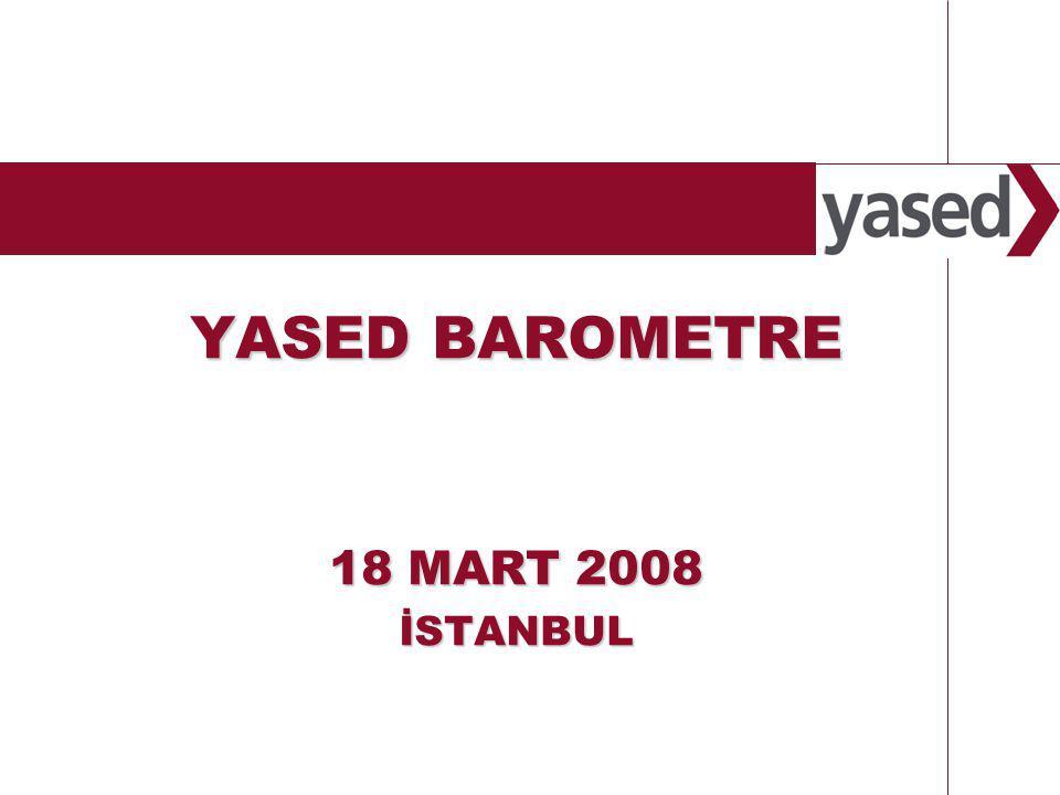 1 www.yased.org.tr YASED BAROMETRE 18 MART 2008 İSTANBUL