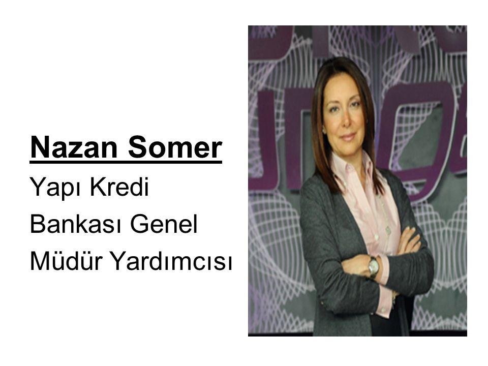 Nazan Somer Yapı Kredi Bankası Genel Müdür Yardımcısı