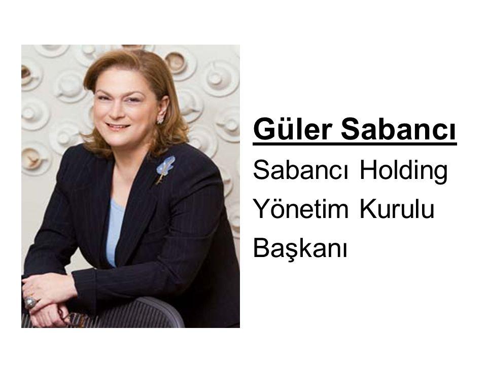 Güler Sabancı Sabancı Holding Yönetim Kurulu Başkanı