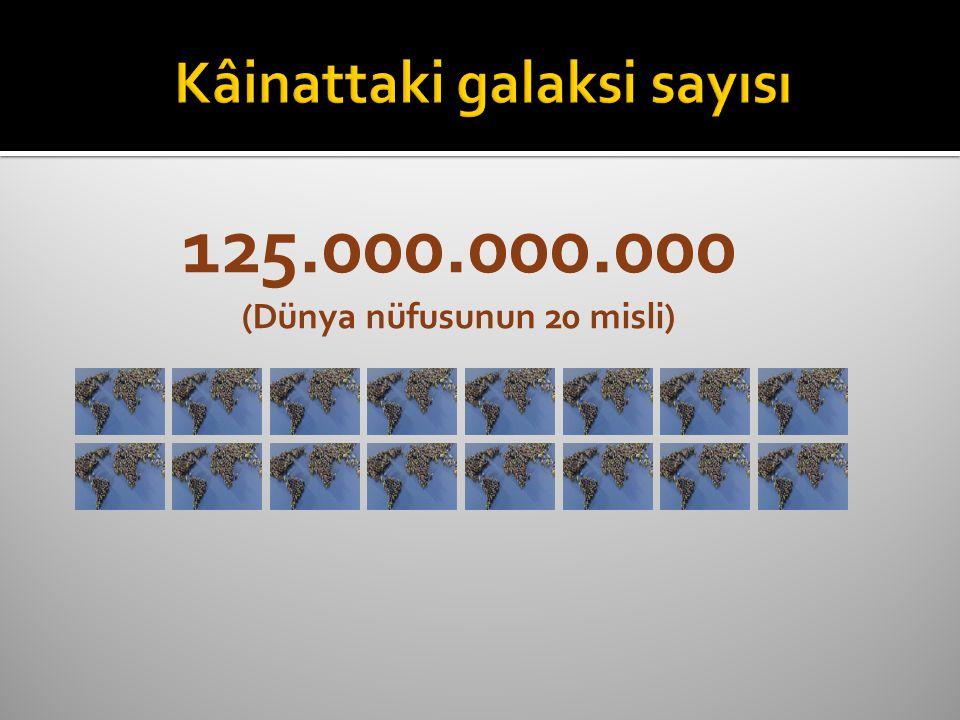 125.000.000.000 (Dünya nüfusunun 20 misli)